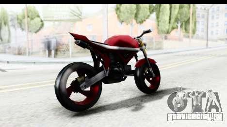Custom Stunt FCR9000 для GTA San Andreas вид слева