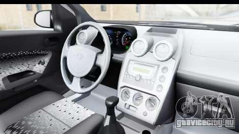 Ford Fiesta 2004 для GTA San Andreas вид изнутри