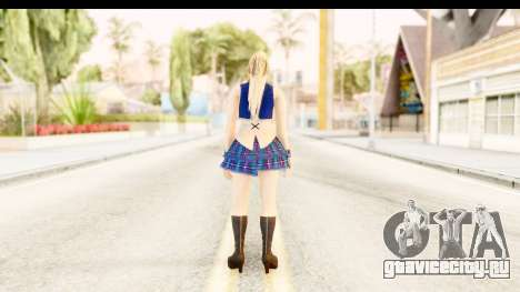 DoA 5 - Sarah Pop Idol для GTA San Andreas третий скриншот