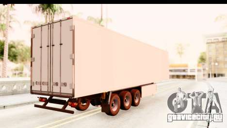 Trailer ETS2 v2 New Skin 1 для GTA San Andreas вид слева