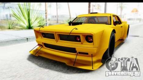 GTA 5 Declasse Drift Tampa для GTA San Andreas вид сзади слева