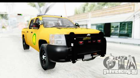Chevrolet Silvedaro Basarnas для GTA San Andreas вид справа