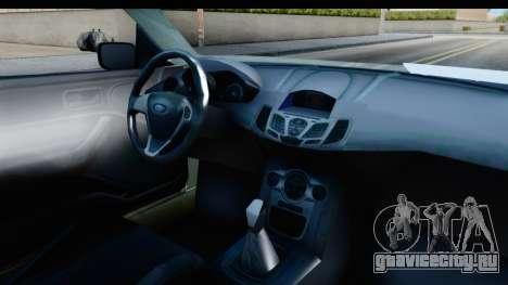 Ford Escort RS Cosworth 2016 для GTA San Andreas вид изнутри