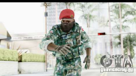 Global Warfare Indonesia для GTA San Andreas