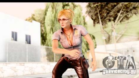 Silent Hill Shattered Memories - Cybil для GTA San Andreas