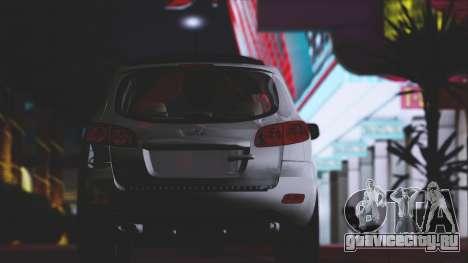 Hyundai Santa Fe Stock для GTA San Andreas вид сбоку