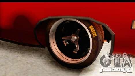 Ford Torino для GTA San Andreas вид сзади