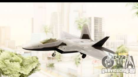 Lockheed Martin F-22 Raptor для GTA San Andreas