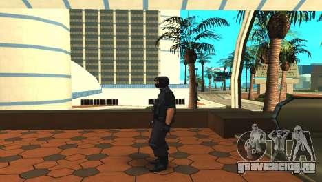 Изменённый оригинальный скин SWAT для GTA San Andreas третий скриншот