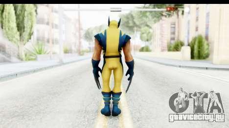 Marvel Heroes - Wolverine Modern для GTA San Andreas третий скриншот