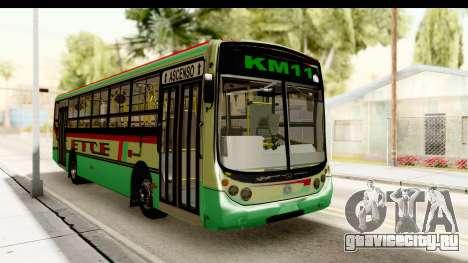 Metalpar Tronador 2 Puertas ETCE GTA Micros Arg для GTA San Andreas вид справа