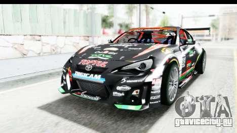 D1GP Toyota 86 2015 DRIVE для GTA San Andreas вид справа