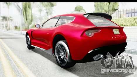 GTA 5 Grotti Bestia GTS with MipMap IVF для GTA San Andreas вид слева
