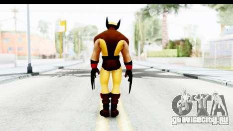 Marvel Heroes - Wolverine Brown для GTA San Andreas третий скриншот