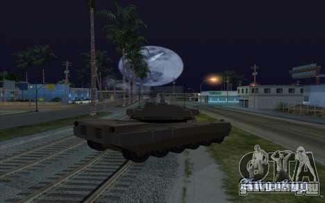 Эффект стрельбы из танка для GTA San Andreas третий скриншот