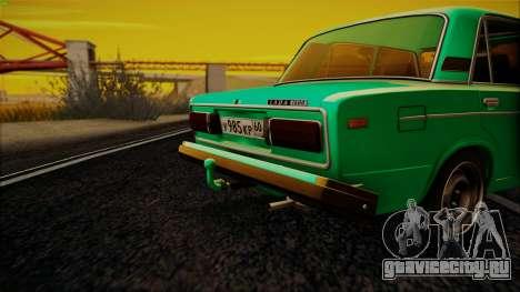ВАЗ 2106 ШохерИзАда GVR для GTA San Andreas вид слева