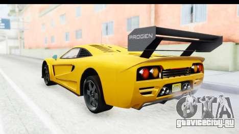 GTA 5 Progen Tyrus IVF для GTA San Andreas вид слева