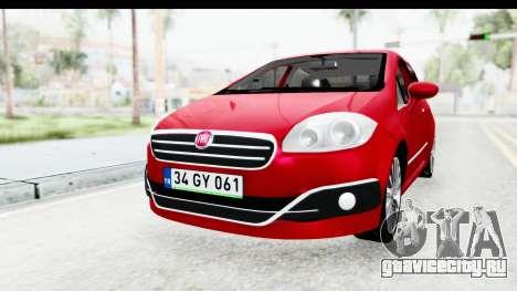 Fiat Linea 2015 v2 для GTA San Andreas вид справа