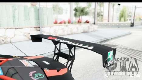 D1GP Toyota 86 2015 DRIVE для GTA San Andreas вид сбоку