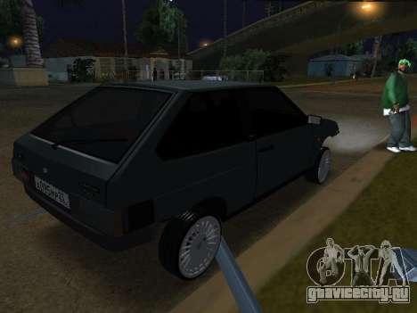 VAZ 2108 для GTA San Andreas вид слева