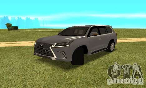 Lexus LX570 для GTA San Andreas вид слева