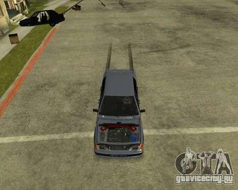 VAZ 21015 ARMENIAN для GTA San Andreas вид снизу
