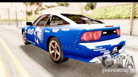 Nissan Sileighty 2015 D1GP для GTA San Andreas вид слева