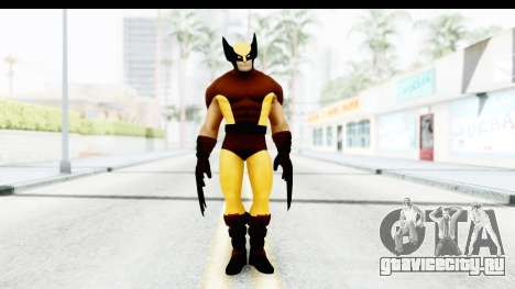 Marvel Heroes - Wolverine Brown для GTA San Andreas второй скриншот