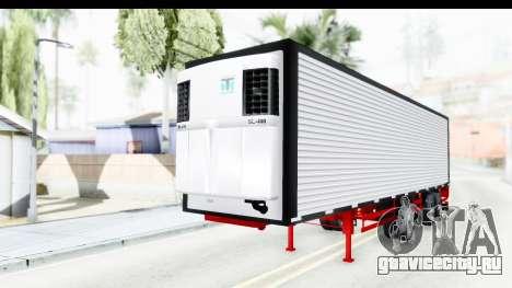 Trailer with Axle для GTA San Andreas вид справа
