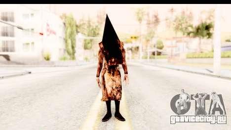 Silent Hill Downpour - Pyramid Head для GTA San Andreas второй скриншот