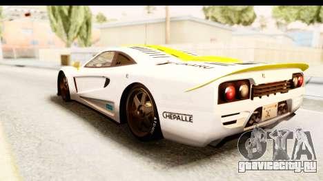 GTA 5 Progen Tyrus SA Style для GTA San Andreas колёса