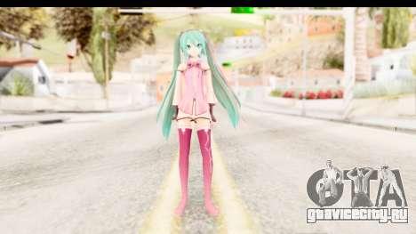Project Diva F - Hatsune Miku Vocal Star Remade для GTA San Andreas второй скриншот