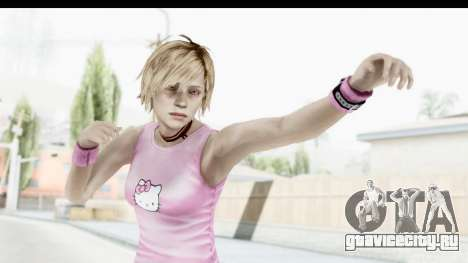 Silent Hill 3 - Heather Sporty Light Pink HK для GTA San Andreas