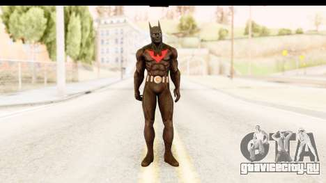 Batman Arkham City Batman Beyond для GTA San Andreas второй скриншот