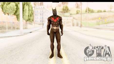 Batman Arkham City Batman Beyond для GTA San Andreas второй скриншот