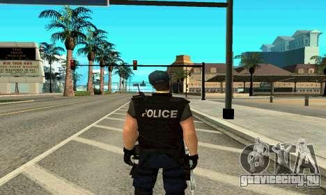 Тренер SWAT для GTA San Andreas второй скриншот