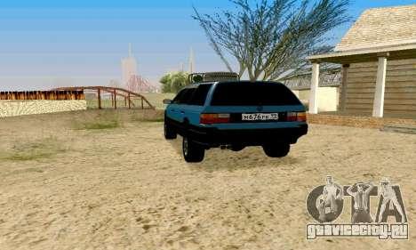 Volkswagen B3 для GTA San Andreas вид слева