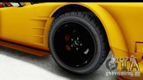 GTA 5 Declasse Drift Tampa для GTA San Andreas вид сзади