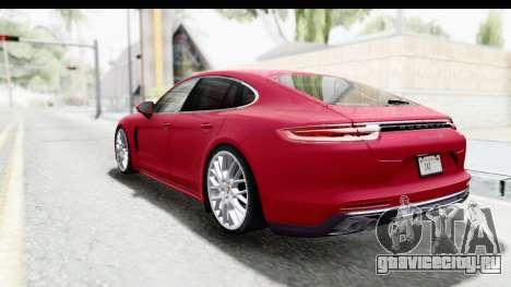 Porsche Panamera 4S 2017 v2 для GTA San Andreas вид слева
