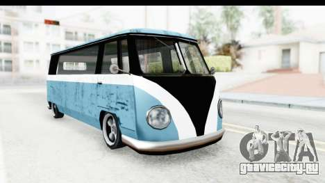 New Camper для GTA San Andreas