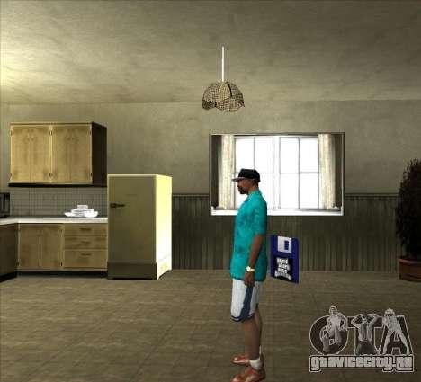 Рубашка Томми для GTA San Andreas третий скриншот