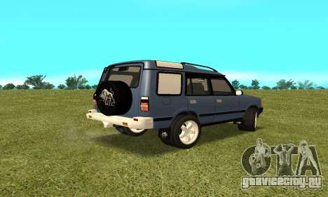 Land Rover Discovery 2B для GTA San Andreas вид слева