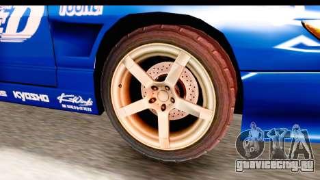 Nissan Sileighty 2015 D1GP для GTA San Andreas вид сзади