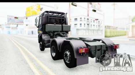 Tatra Phoenix 6x2 Agro Truck v1.0 для GTA San Andreas вид сзади слева