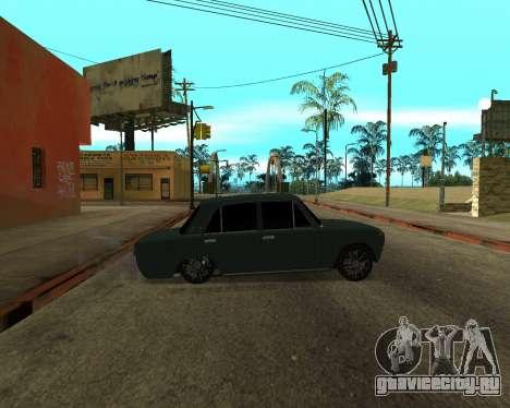 VAZ 2101 Armenian для GTA San Andreas вид изнутри