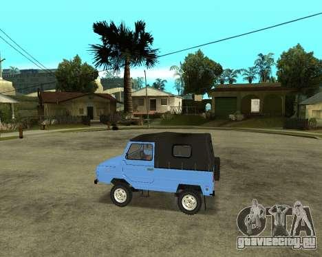 Luaz 969 Armenian для GTA San Andreas вид сзади