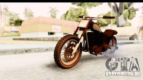 GTA 5 Western Cliffhanger Stock IVF для GTA San Andreas