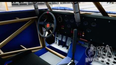 GTA 5 Trophy Truck IVF PJ для GTA San Andreas вид изнутри