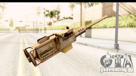M2 Browning для GTA San Andreas второй скриншот