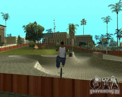 New HD Glen Park для GTA San Andreas второй скриншот